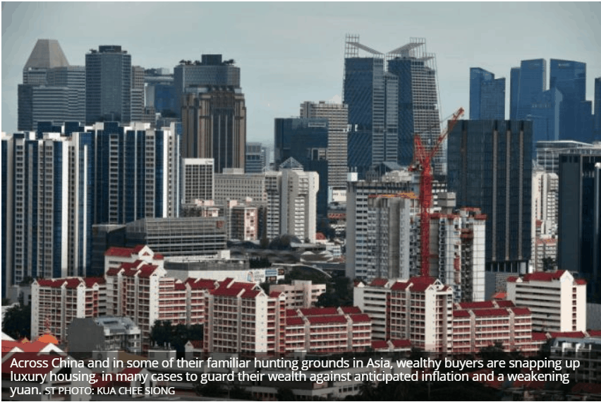 Rich Chinese home buyers